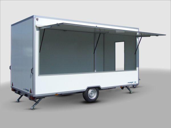 Verkaufswagen Top-Linie VKE 1537/206 - leer